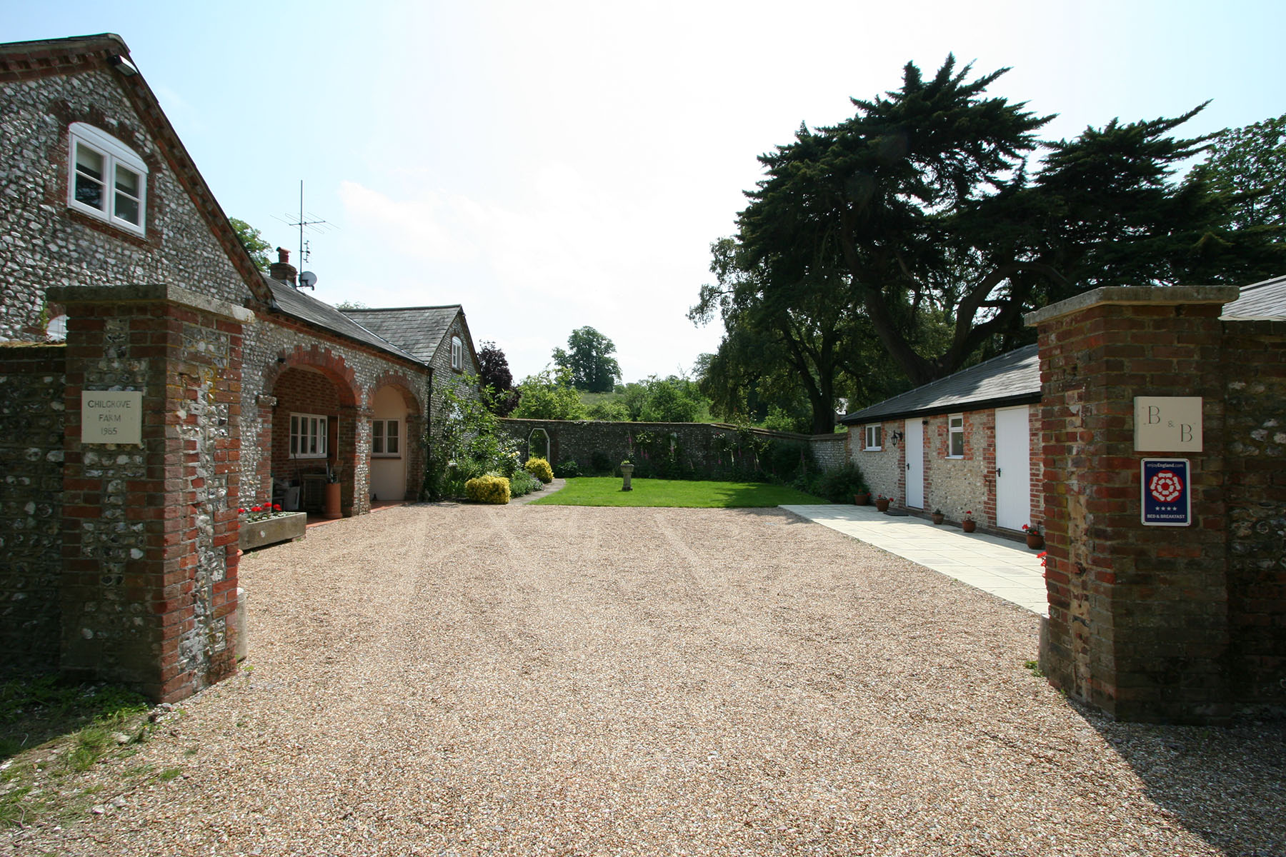 Chilgrove Farm Bed & Breakfast, Chilgrove, near Chichester, West Sussex