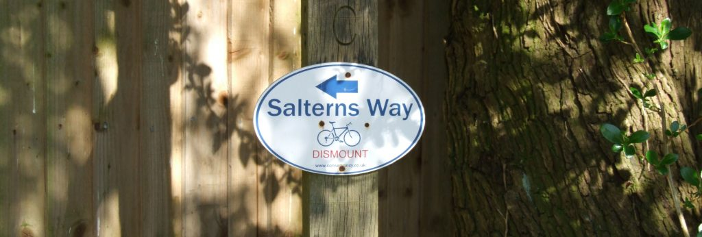 Salterns Way cycle route from Chichester to the coast