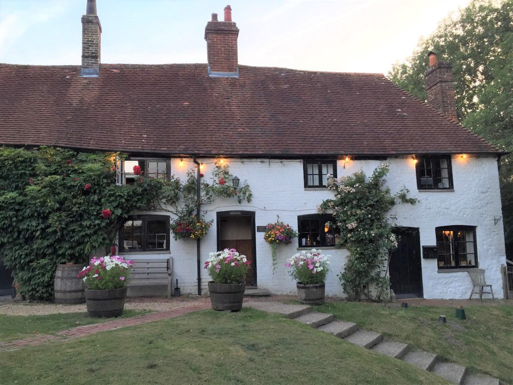 Three Horseshoes pub at Elsted, West Sussex